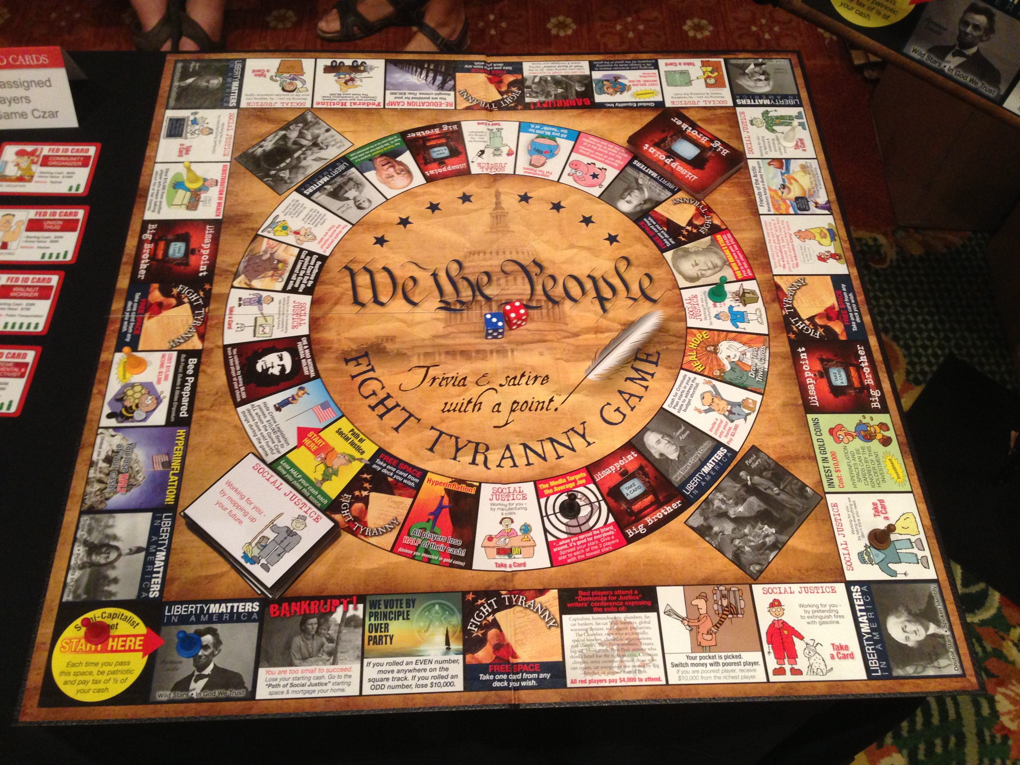 History Board Games Ideas