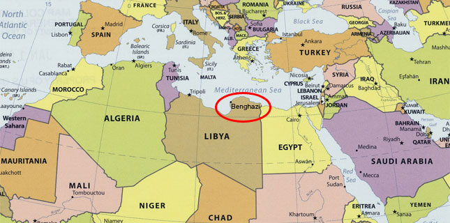Explainer A Year Of Benghazi Myths - Benghazi us consolate attack on google maps