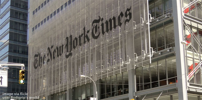 Image result for New York Times assails right wing over political violence before running correction