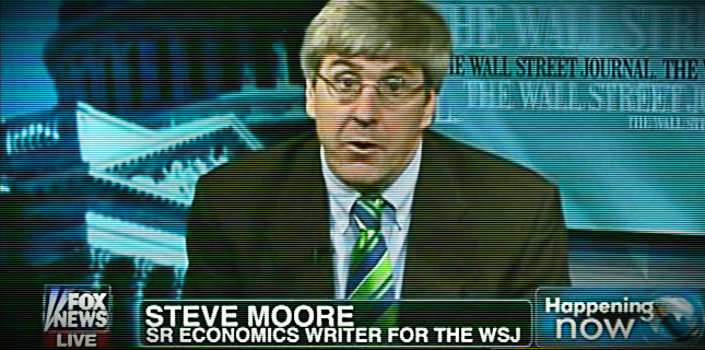 WSJ's Stephen Moore