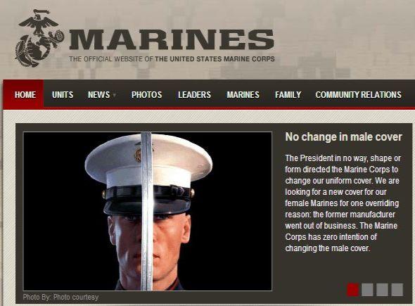 U.S. Marine Corps statement