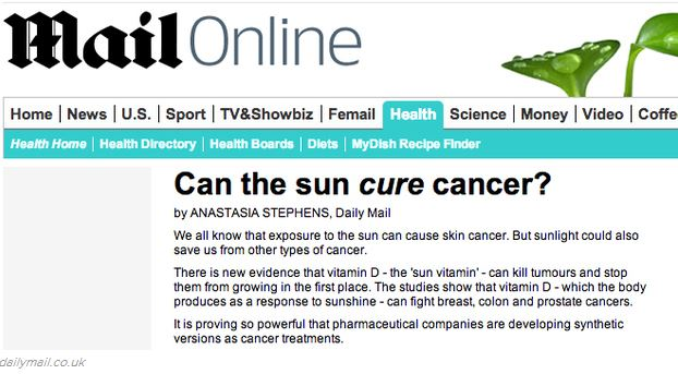 Mail Headline - Cancer