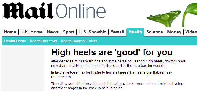 Mail Headline - High Heels