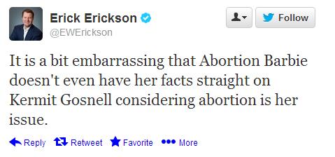 Erickson Tweet