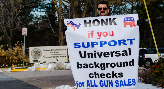 Honk for background checks