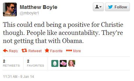 Matt Boyle tweet