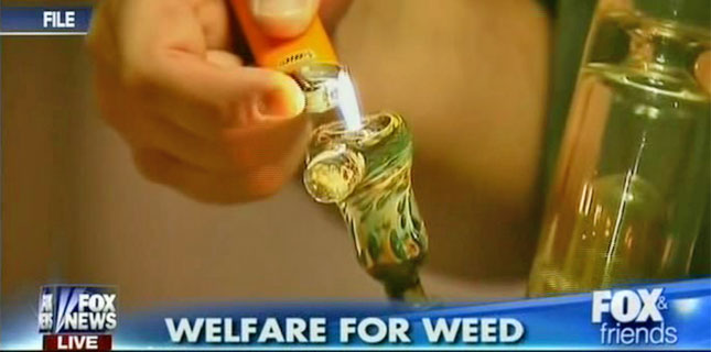 Welfare for Weed