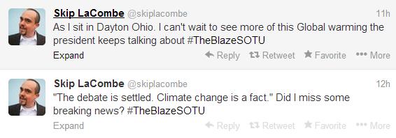 LaCombe Tweet January 28