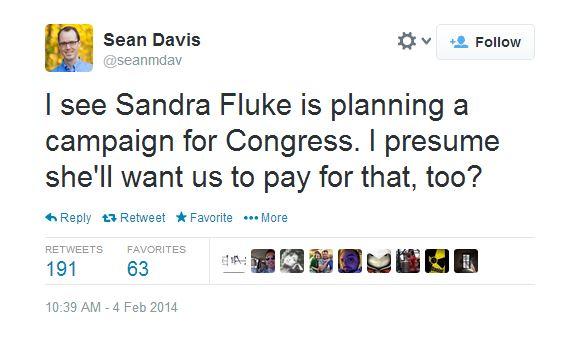 Davis tweet