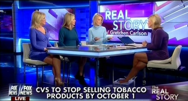 Fox Freaks Out Over Cvs Ending Sales Of Tobacco