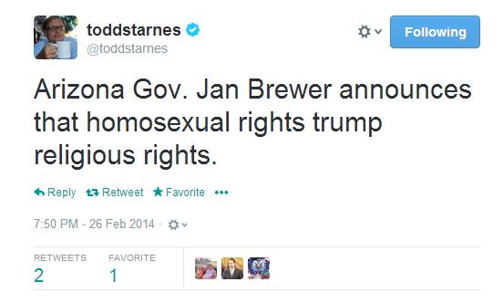 from Rayden gay rights bill vetoed