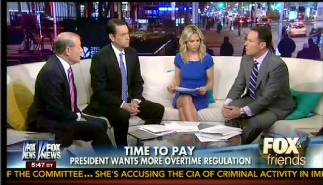 Fox Doesn't Know What Obama's Move To Expand Overtime Will