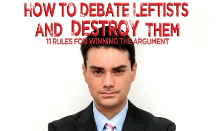 "Shapiro's new title,  ""11 Rules For Winning The Argument"""