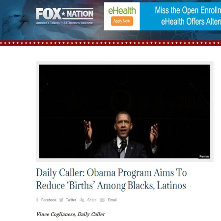 Fox Nation Hypes Daily Caller
