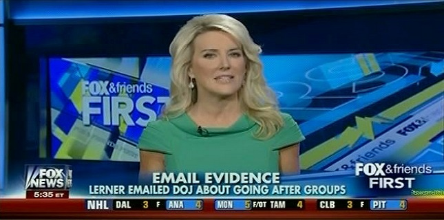 But Pavlich's claim that Lerner contacted DOJ officials first is false