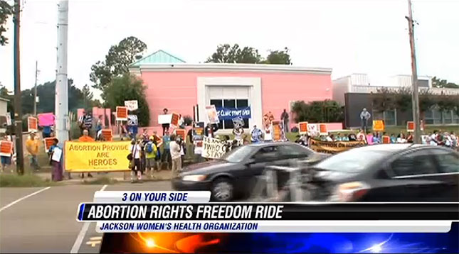 Mississippi Pro-Choice Protest