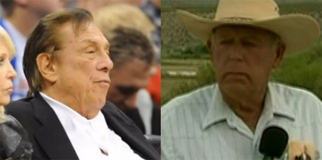 Cliven Bundy, Donald Sterling