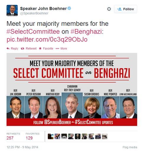 Boehner tweet