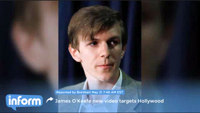 O'Keefe Breitbart video