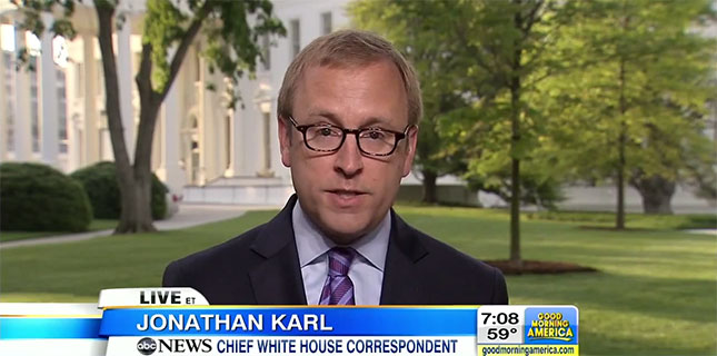 Jonathan Karl ABC News