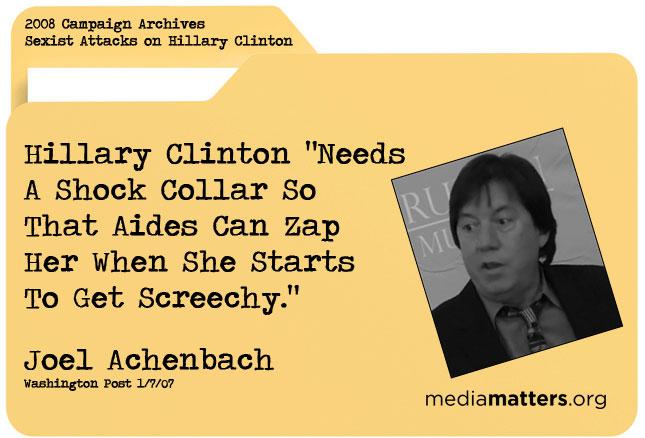 Media Matters Archive: Joel Achenbach