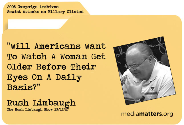Media Matters Archive: Rush Limbaugh