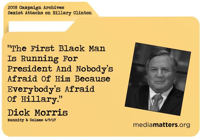 Media Matters archive: Dick Morris