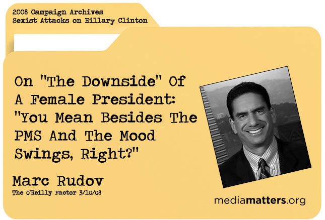 Media Matters Archive: Marc Rudov
