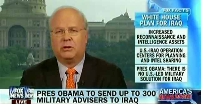 Karl Rove Attacks Obama For Pursuing Unprecedented Iraq Deal That