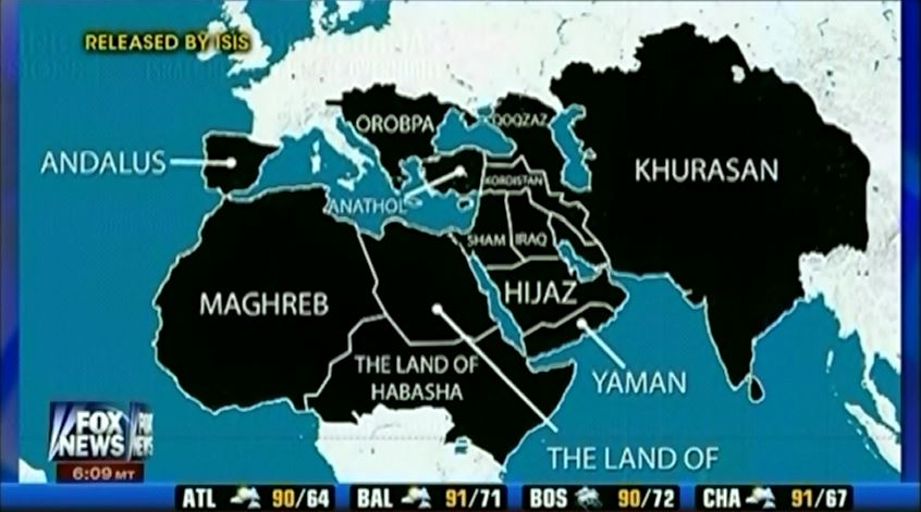 Victoria 2 States Map.Why Is The Media Taking These Isis World Domination Maps So Seriously