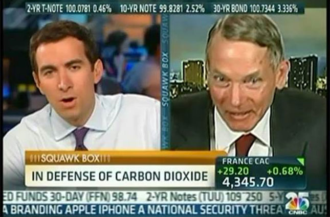 William Happer on CNBC