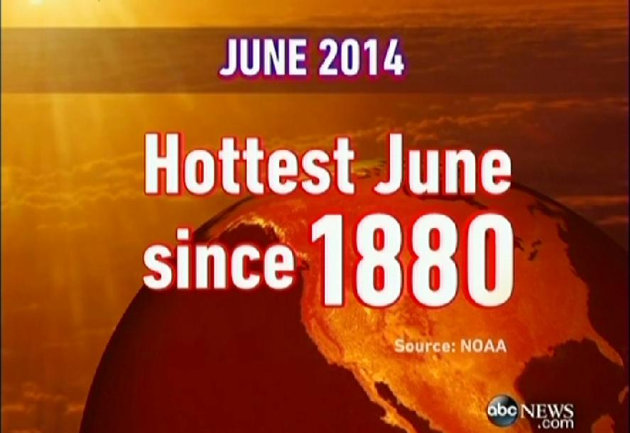 Hottest June