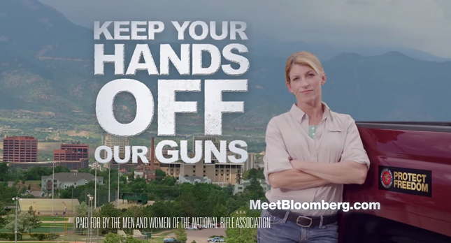 NRA ad: Keep Your Hands Off Our Guns