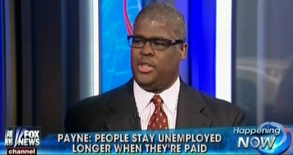 Fox's Charles Payne Says The Unemployed Are