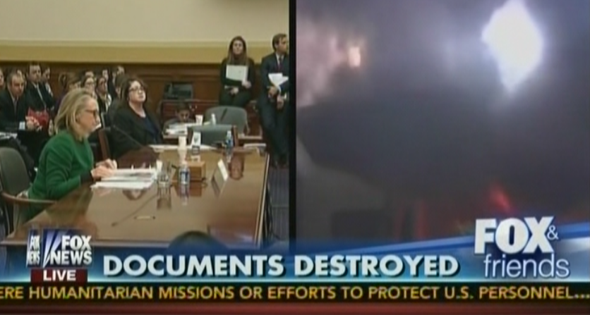 Documents destroyed