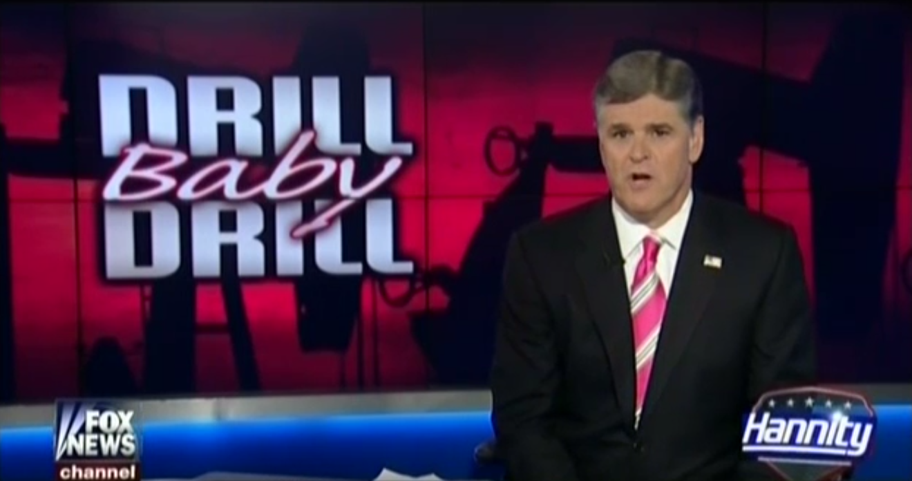Hannity Drill