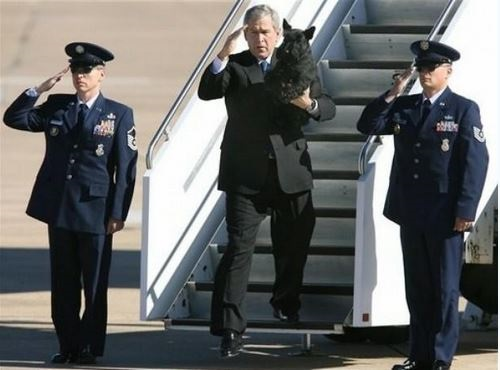 george bush obama relationship with military