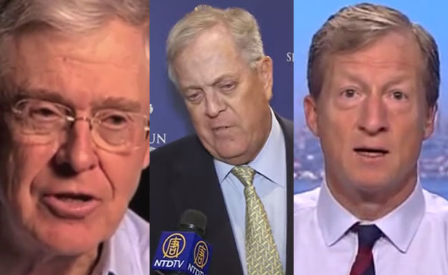 Koch, Steyer