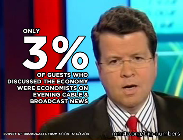 Economists on the news in 2014