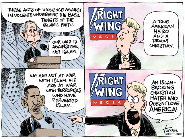 Image result for Media's Double Standards CARTOON