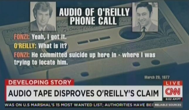 CNN report debunking Bill O'Reilly's JFK Story