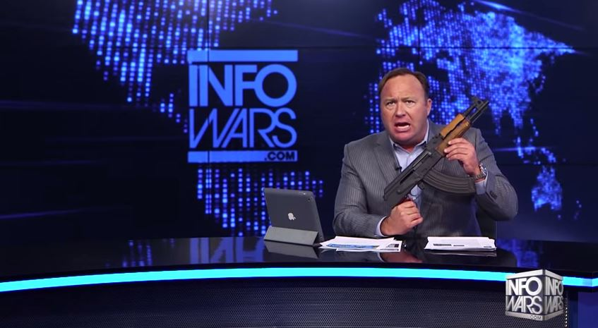 "Alex Jones Loses It Over Gun Safety PSA: A ""Full Out ..."