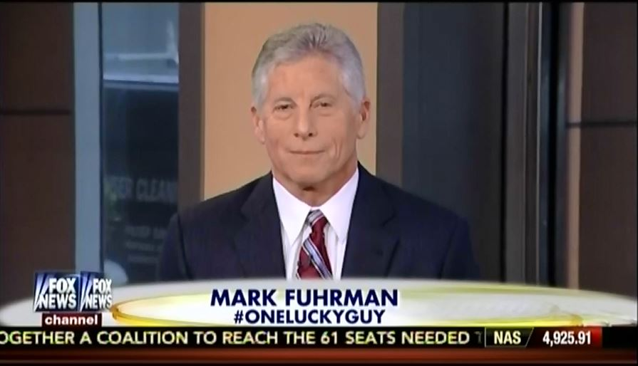 Fox News' Mark Fuhrman Says Co-Hosting Outnumbered Is
