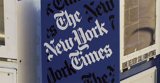 New York Times offers buyouts, eliminates public editor position
