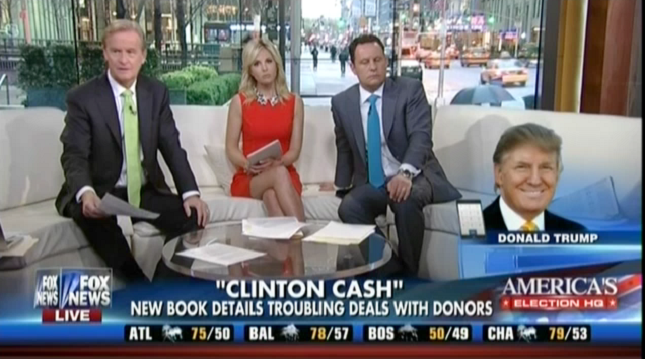 Fox News Is Trumpeting The Latest Anti-Clinton Smear Book