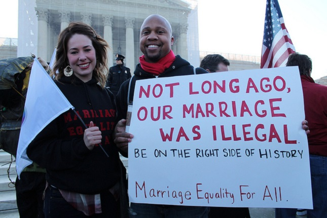 An argument in favor of same sex marriage in the united states
