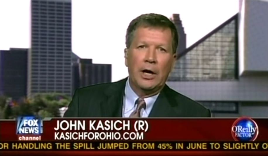 John Kasich, Another Fox News Employee-Turned-Candidate, Is ...