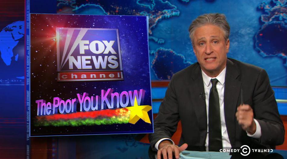 Jon Stewart: Fox News\' Poor-Shaming Is \