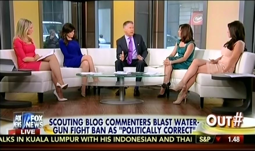 Fox's Outnumbered: Boy Scouts' Ban On Water Gun Fights