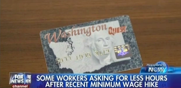 Fox Thinks Minimum Wage Workers Prefer Welfare To Wages